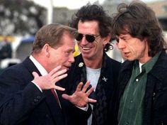 Václav Havel a The Rolling Stones: Jak probíhalo slavné . Samuel Beckett, Keith Richards, The Rock, Rock And Roll, August Strindberg, The Rolling Stones, 1989 Tour, Charlie Watts, Prague Castle