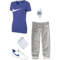 Sporty and Comfy - There is a very good chance I would be seen dressed like this, almost every day!