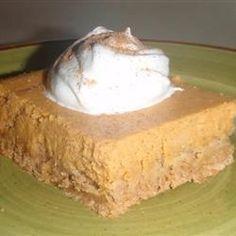 Pumpkin Cheesecake Bars - Allrecipes.com