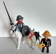 Playmobil Don Quijote de la Mancha y Sancho Panza Aniversario Cervantes | eBay