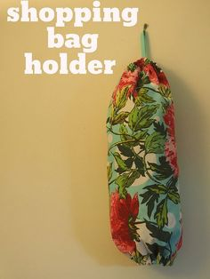 Shopping bag holder - Great idea for school fetes