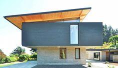 Splendide panorama pour une maison contemporaine originale en bois au Chili, Une-15-05-house-cs #construiretendance