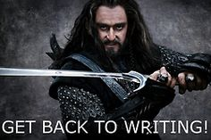 #Thorin #Oakenshield You Should Be Writing << back to highlighting for paper due Monday before my 3:30 pm class.