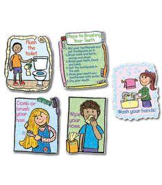 #CDWISHLIST  Hygiene: Kid-Drawn Bulletin Board Set - Carson Dellosa Publishing Education Supplies