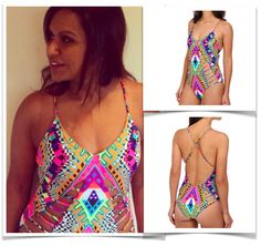 One-Piece swimsuit - 4 styles for 2015 -  as seen on celebs $132 USD