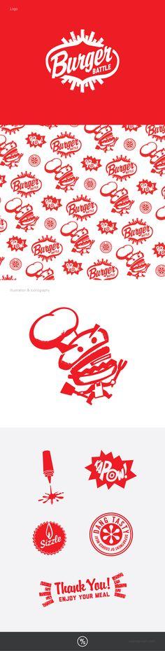 Burger Battle: Boys & Girls Clubs of the CSRA #branding #design #advertising #logo
