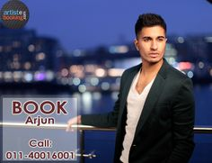 Book Arjun From Artistebooking.com. ‪#‎Arjun‬ ‪#‎artistebooking‬ ‪#‎Singer‬. For More Details Visite : artistebooking.com Or Call : 011-40016001