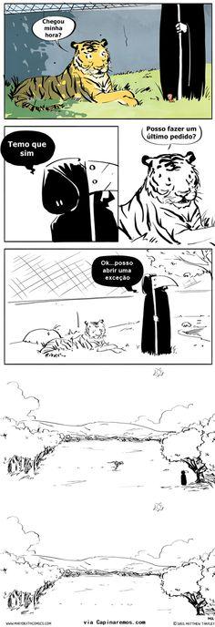 O último pedido do tigre