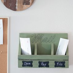 DIY wall mail organizer is the perfect beginner woodworking project. DIY wall mail organizer is the perfect beginner woodworking project. Make it with simple hand tools