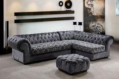 luxury gray sofa designs Gray Sectional Sofa Fifty Shades of grey decor ideas