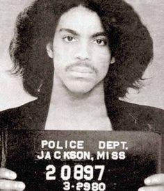 Prince mugshot - 1980