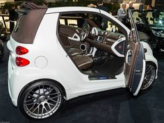 smart car with a 5x112 adapter - Google Search