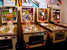 60s and '70s Pinball machines