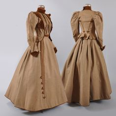 1890s Victorian Promenade Visiting Suit Dress