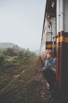 Man & Camera. Bangkok to Chiang Mai ➾ Luke Gram