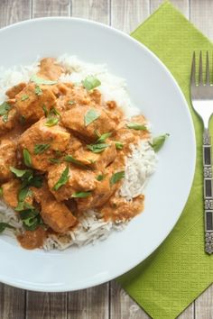 Healthy Slow Cooked Tikka Masala- this one calls for coconut milk