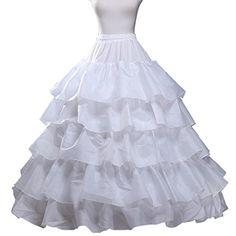Fashion Plaza Ball-gown Ruffled Slip Floor-length Bridal Petticoat A0009 (White) Fashion Plaza http://www.amazon.com/dp/B00U8KKC1E/ref=cm_sw_r_pi_dp_-rPAwb05AKYY3