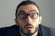 Man with a surprised facial expression, Surprise expression by Ramzi  Hachicho on 500px