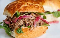 How to Cook Pulled Pork Sous Vide - Great British Chefs