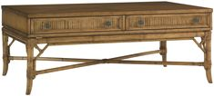 Beach House Ponte Vedra Rectangular Cocktail Table by Tommy Bahama Home