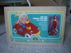 Vintage Cabbage Patch Kids Volkswagon Fun Car Stroller 1987 Coleco Mint In Box