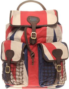 Beacon Backpack With Union Jack Detail