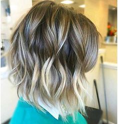 Short Hairtyle for Wavy Hair, Hair Styles Length Medium, Graduated Short Bob, Blonde Bob Wavy Balayage Super Short Hair, Short Straight Hair, Short Hair With Layers, Short Wavy, Cute Hairstyles For Short Hair, Pretty Hairstyles, Straight Hairstyles, Wavy Hairstyles, Hair 24