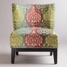 Rio Multicolored Ikat Darby Chair