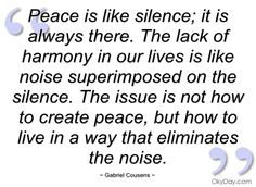 quotes about peace nothing Quotes
