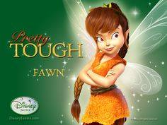Wallpaper of Fawn for fans of Disney Fairies and Pixie Hollow 15122721 Tinkerbell Party Theme, Tinkerbell And Friends, Tinkerbell Disney, Tinkerbell Fairies, Disney Fairies, Disney Girls, Disney Princess, Tinkerbell Wallpaper, Fairy Wallpaper