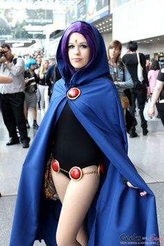 awesome Raven cosplay