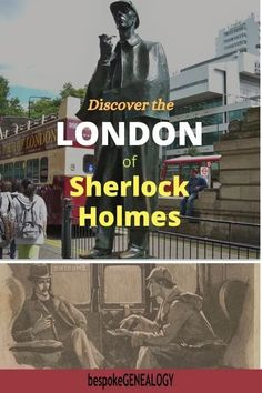 Discover the London of Sherlock Holmes. One of the great things to do in London is to look for locations mentioned in the Sherlock Holmes adventures. Here are some of them London Tours, London Museums, London Places, London Travel, London Activities, Travel English, Things To Do In London, Places Of Interest