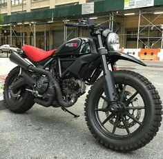 Custom Ducati Scrambler.