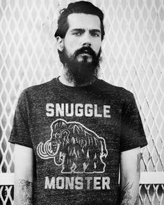 snuggle monster tee
