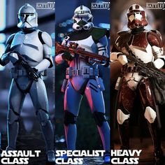 Q: Which class of Clone Trooper from Star Wars: Battlefront 2 is your favorite? Follow: @AStormtrooperADay#AStormtrooperADay: @ArtByArvidssonVia: @starwars_lore-#StarWarsBattlefront2