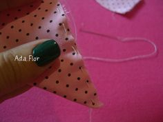 Rosa de Fuxico - PAP 3 | Flickr – Compartilhamento de fotos! -  Alinhave.