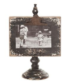 Take a look at this Black Picture Frame by Wilco on #zulily today!This would be easy to make with barn wood.