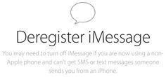 ¿Problemas con iMessage en otro móvil? Apple lanza una web para desactivarlo