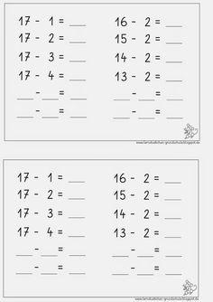 Rechendreiecke, rechnen, Mathe, Dyskalkulie, Dyskalkulietraining ...