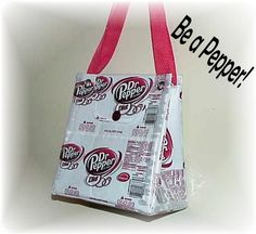 Diet Dr Pepper purse