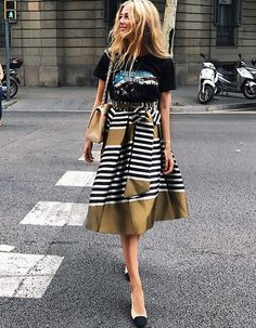 This Summer's Flirtiest Skirts