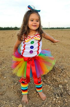 Hey, I found this really awesome Etsy listing at https://www.etsy.com/listing/173018333/rainbow-shirt-clown-costume-clown