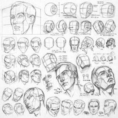 Anatomy Drawing Tutorial Anatomy sketch and study. - Anatomy sketches and studies by illustrator James Ng. Anatomy Sketches, Anatomy Drawing, Anatomy Art, Drawing Sketches, Face Anatomy, Anatomy Study, Drawing Tips, Anatomy Poses, Sketching Tips