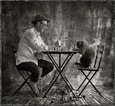 andy prokh photographer | Portrait de LiLu Blue Royal Lada par Andy Prokh | Fashion Pets