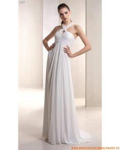 2013 Schlichte neue Brautmode aus Chiffon