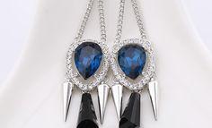 2014 fashion female daily wear water drop vintage dangle design new model earring http://www.aliexpress.com/store/1482336