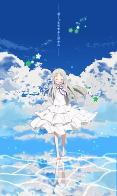 We have collected the top anime with ghosts and spirits to help you get your spook on. There's nothing better than cozying up on the couch and enjoy a paranormal anime after a long day and get lost in a world full of supernatural creatures. Sad Anime, Kawaii Anime, Anime Art, Anohana Anime, Hokusai, Chica Anime Manga, Image Manga, Animes Wallpapers, Anime Shows