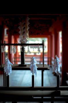 yosihon:  宮島・厳島神社・大幣 on Flickr.  Itsukushima Shinto Shrine, Japan