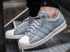Adidas Superstar 80's W Suede Safari Grey