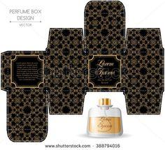 stock-vector-perfume-box-design-in-retro-style-vector-illustration-388794016.jpg (450×410)